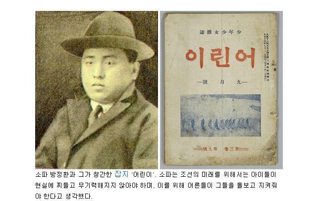 Biography 방정환 - Bang Jeong-hwan in Doodle