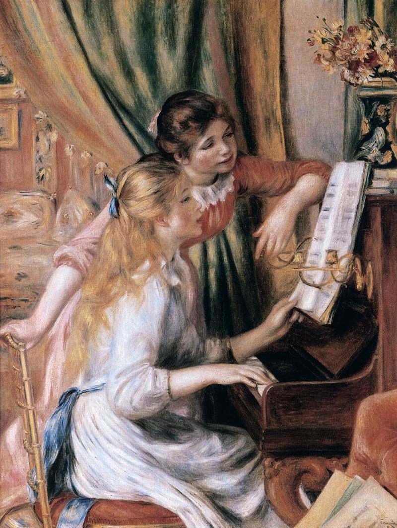 피아노치는 소녀들 파리에 대한 이미지 검색결과